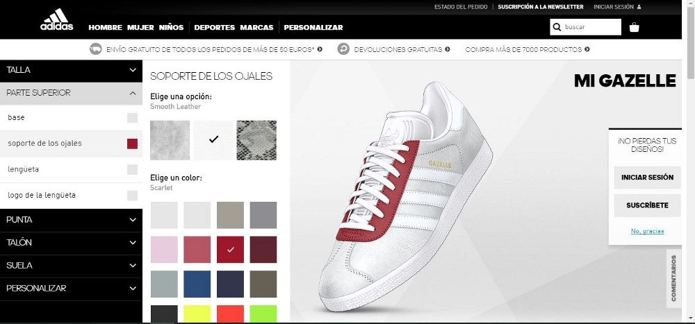 a60a8fa6831 Now more and more brands offer customization options for consumers  from  MiAdidas